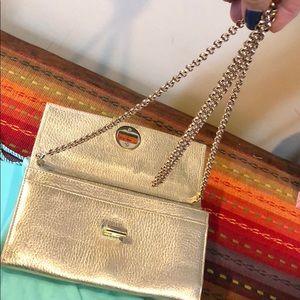 2448607e1e Tiffany & Co. Bags   Tiffany Co Metallic Grain City Clutch Wallet ...